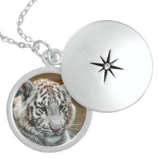 Tiger20151001 Locket Necklace