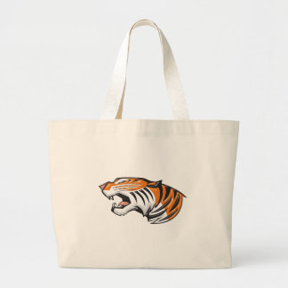 tiger3 large tote bag