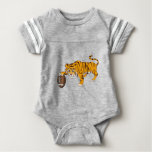 tiger4 baby bodysuit