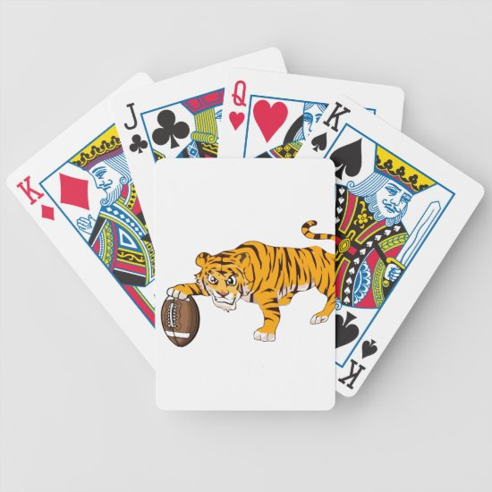 tiger4 bicycle playing cards