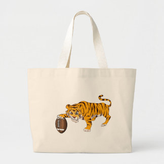 tiger4 large tote bag