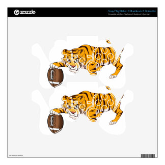 tiger4 PS3 controller decal