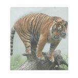 tiger5-10x10 bloc de papel
