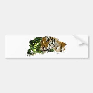 Tiger 01 bumper sticker