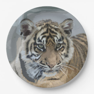 Tiger_2014_0901 Paper Plate