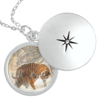 Tiger_20150125_by_JAMFoto Sterling Silver Necklace