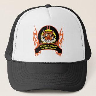 Tiger 21st Birthday Gifts Trucker Hat