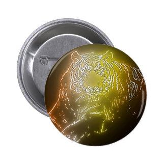 Tiger 2 pinback button