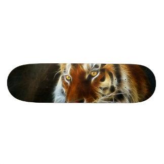 Tiger 3d artworks skateboard deck