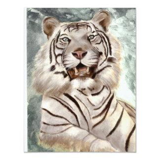 Tiger 4.25x5.5 Paper Invitation Card