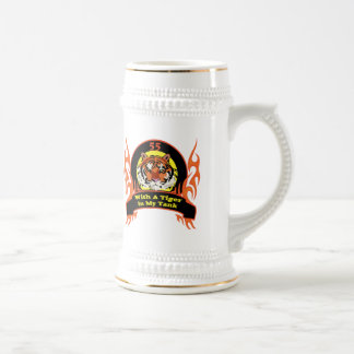 Tiger 55th Birthday Gifts Beer Stein