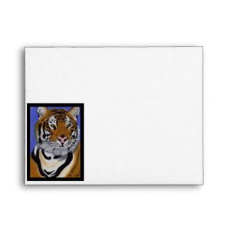 Tiger A2 Note Card Envelope