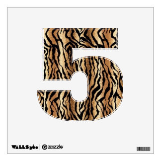 Tiger a Animal Print Wall Decal number 5