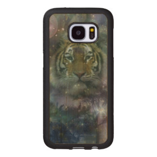 Tiger - A Beauty of Nature Wood Samsung Galaxy S7 Case