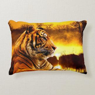 """Tiger Accent Pillow 16"""" x 12"""""""