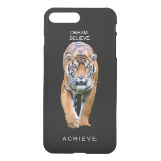 tiger achievement motivational quote iPhone 7 plus case