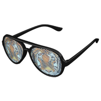 TIGER Adult Aviator Party Shades