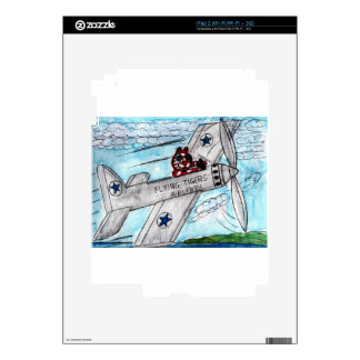 Tiger Airlines Skin For iPad 2