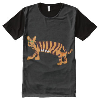 Tiger All-Over-Print T-Shirt
