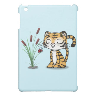 Tiger and a ladybug iPad mini cases