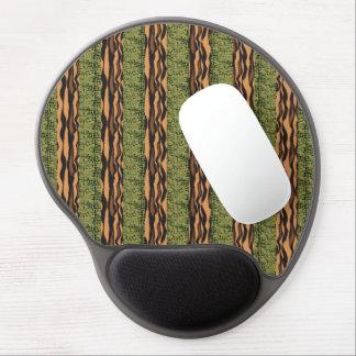 tiger and alligator stripe print gel mouse pads