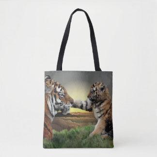Tiger and Cub Digital Edition All-Over-Print Bag
