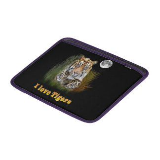 Tiger and cubs art sleeve for MacBook air