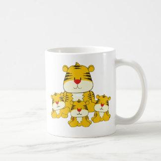 Tiger and Cubs Coffee Mug
