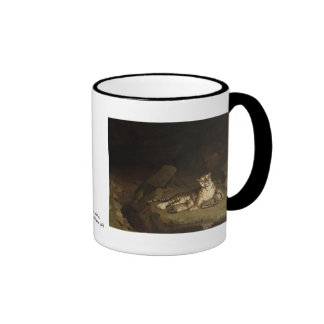 Tiger and Cubs Jean-Leon Gerome 1884 Coffee Mugs