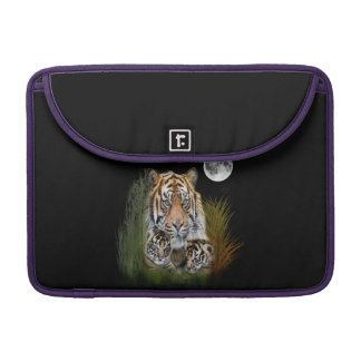 Tiger and cubs MacBook pro sleeve