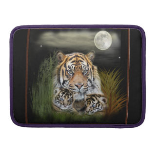 Tiger and cubs sleeve for MacBook pro