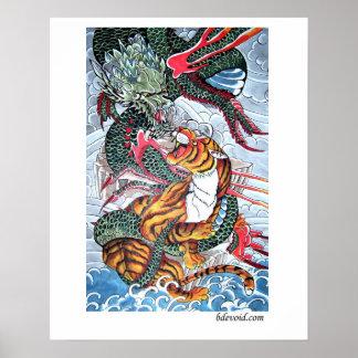 Tiger and Dragon poster