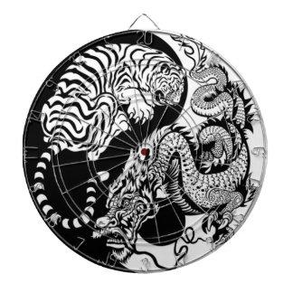 Tiger And Dragon Yin/Yang Dartboard