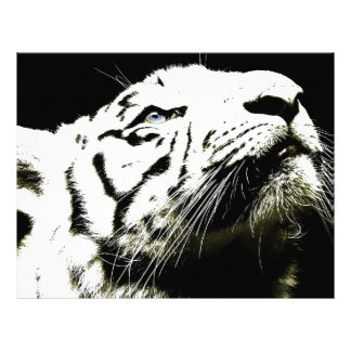 Tiger and Hope Personalized Letterhead