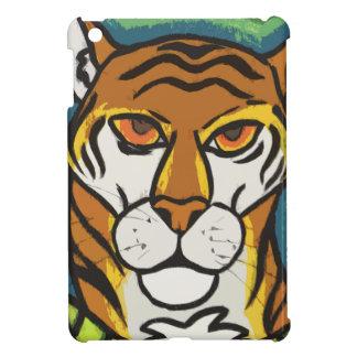 Tiger and leaf iPad mini covers