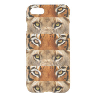 Tiger and Lion eyes Photo iPhone 7 Case