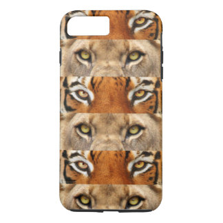 Tiger and Lion eyes Photo iPhone 7 Plus Case