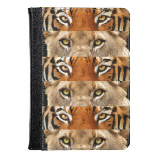 Tiger and Lion eyes Photo Kindle Case