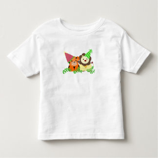 Tiger and Lion Party Animals Toddler T-shirt