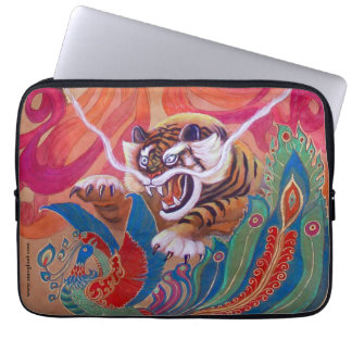 Tiger and Phoenix Laptop sleeve 13''