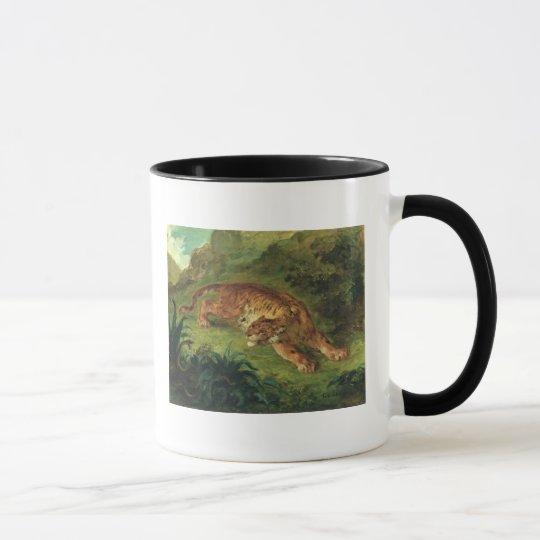 Tiger and Snake, 1858 Mug