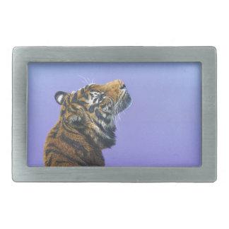 Tiger Angel Light Belt Buckle