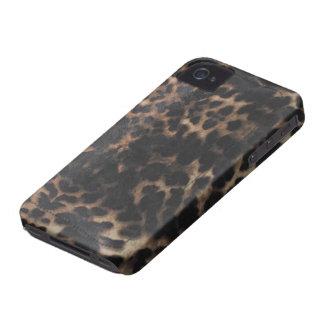 tiger animal print skin v2 iPhone 4 case