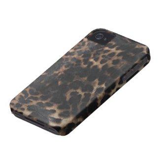 tiger animal print skin v2 iphone 4 cover