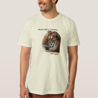 Tiger anti-trophy hunting Tee Shirt