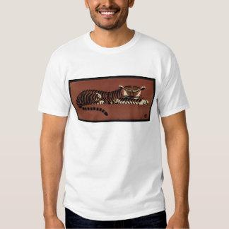 Tiger - Antiquarian, Colorful Book Illustration T-Shirt