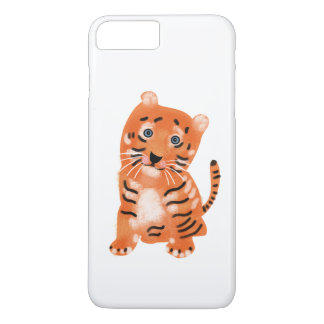Tiger Apple iPhone 7 Plus, Barely There Phone Case