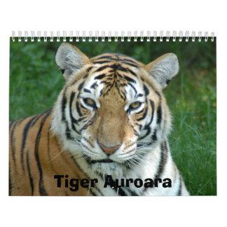 Tiger_Aroara012, tigre Auroara Calendario De Pared