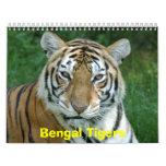Tiger_Aroara012, tigres de Bengala Calendario