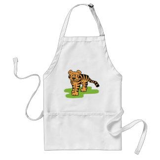 Tiger Art Apron